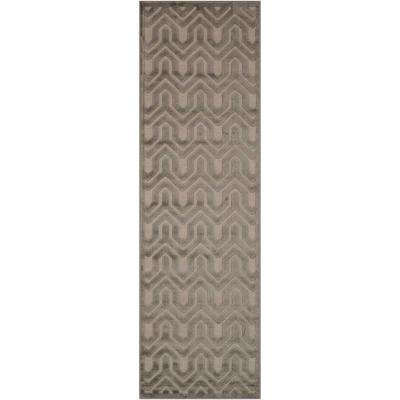 Ultima Silver/Grey 2 ft. x 7 ft. Runner Rug