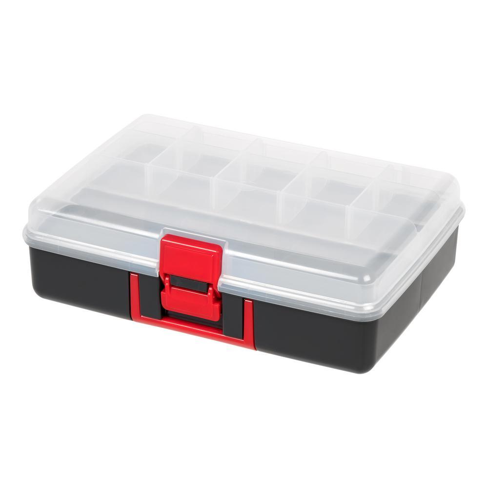 Medium Utility Storage Case in Black (2-Pack)