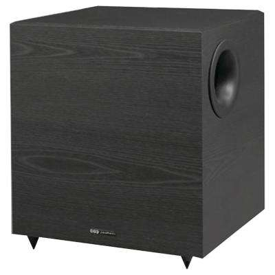 10 in. 350-Watt Down-Firing Powered Subwoofer for Home Theater and Music