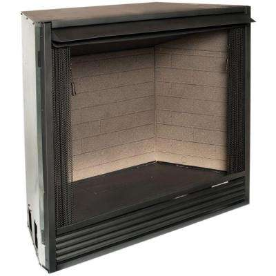 36 in. Ventless Gas Firebox Insert