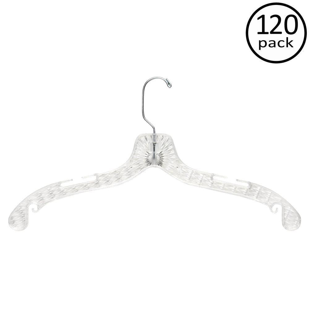 Crystal Cut Shirt or Dress Hanger (120-Pack)