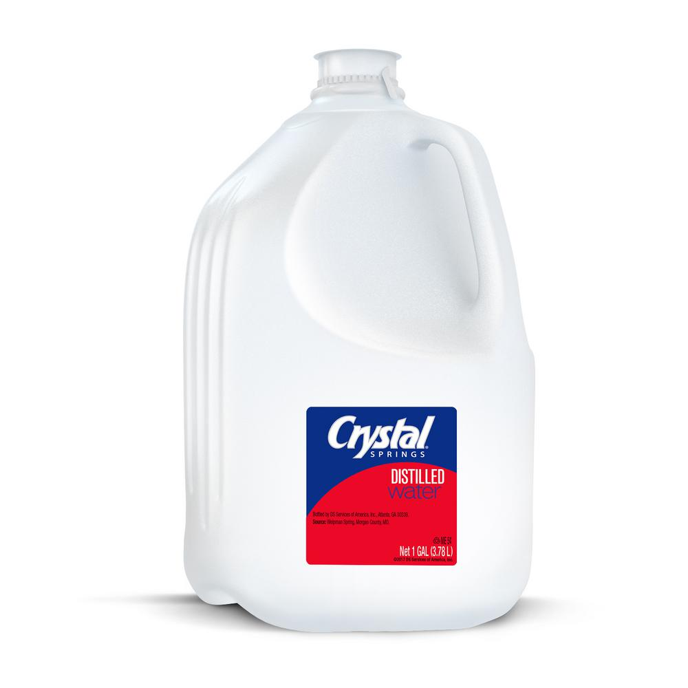 Crystal Springs 1 Gal Distilled Water 079765020004 The Home Depot