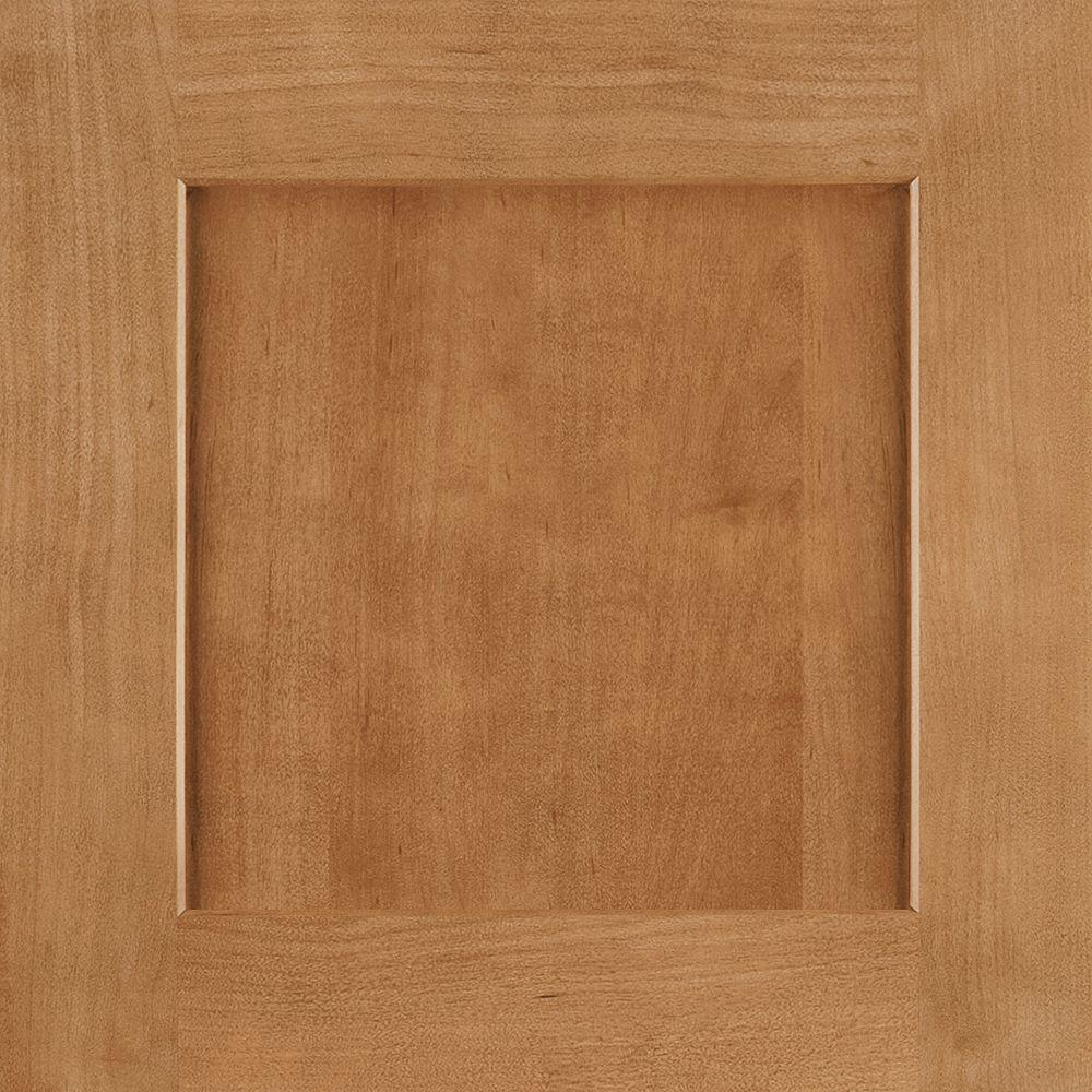 14-9/16x14-1/2 in. Cabinet Door Sample in Reading Maple Spice