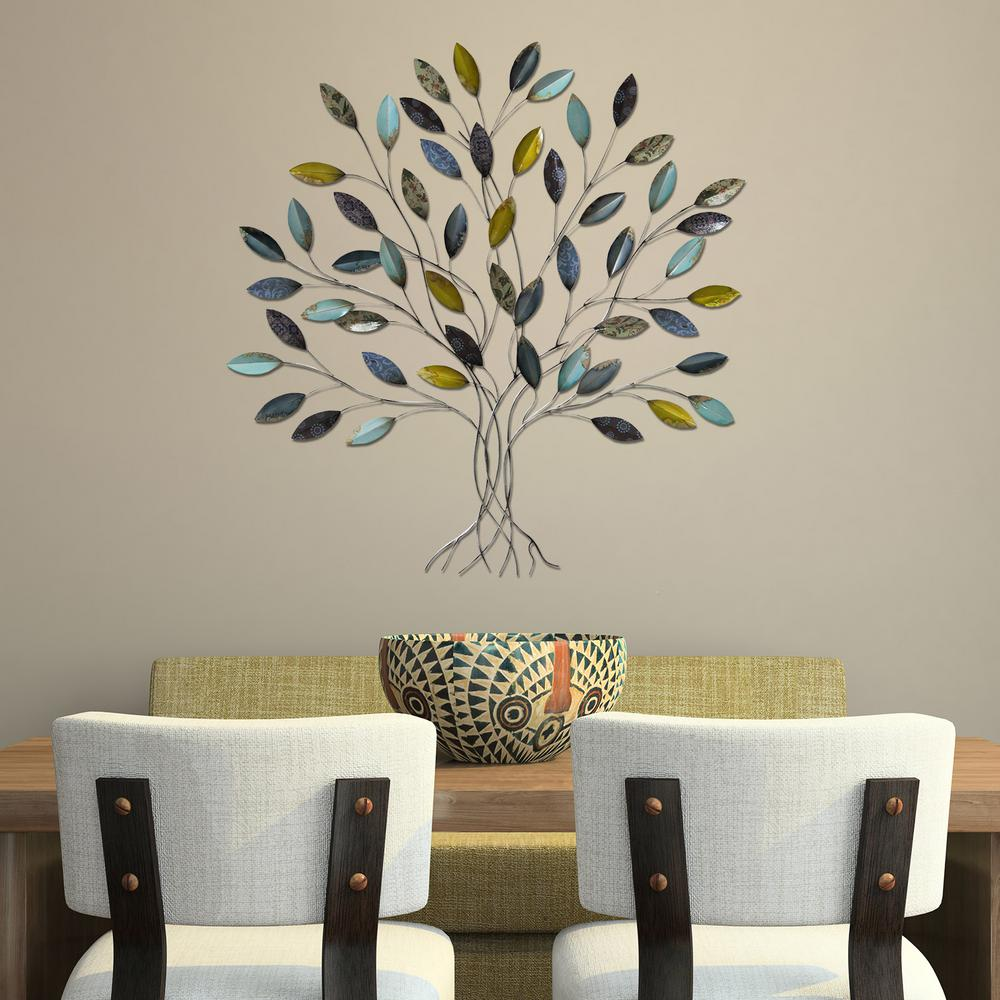 25 Wall Decoration Ideas For Your Home: Stratton Home Decor Tree Wall Decor-SHD0128