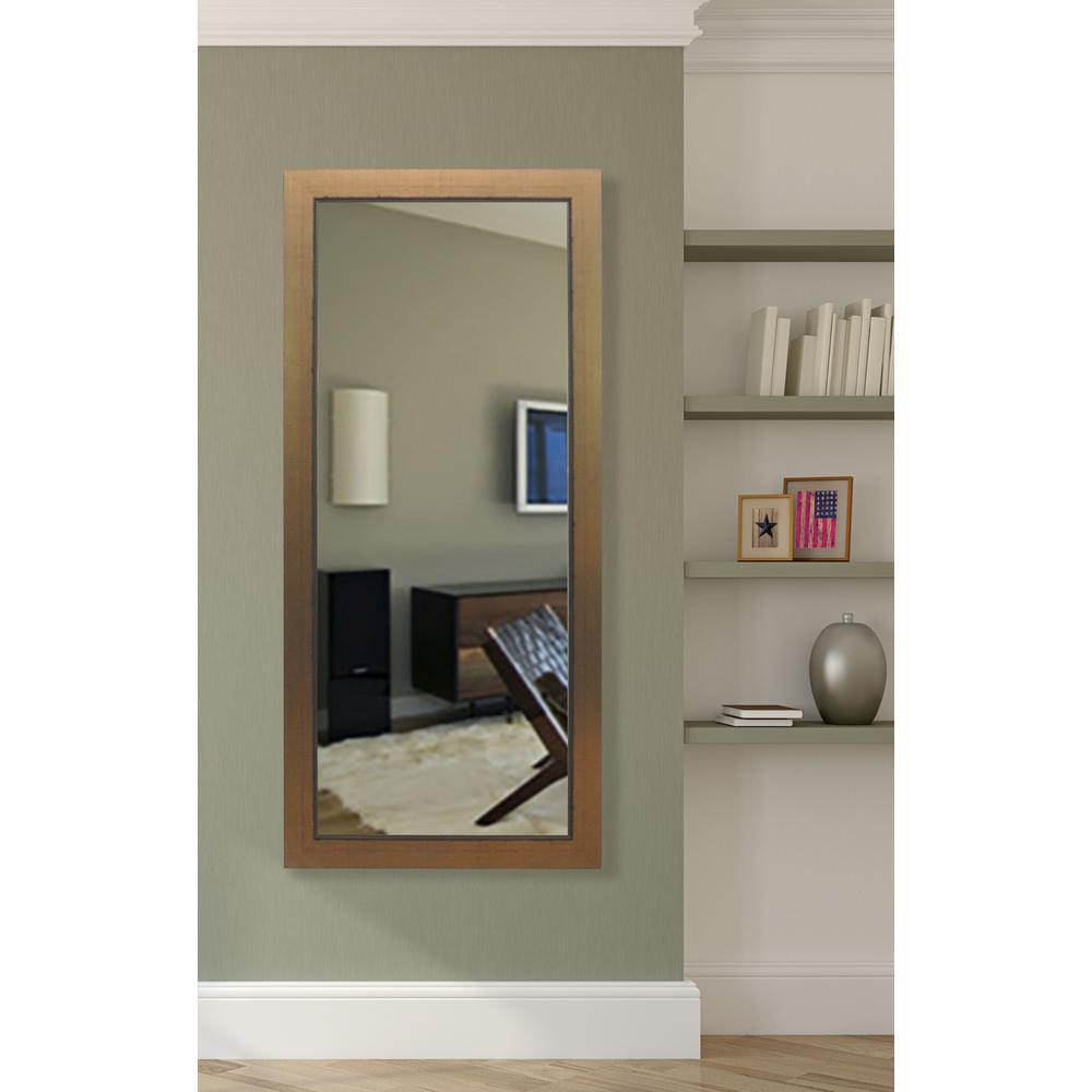 Floor Mirror Lowes: Sandberg Furniture Rose Gold Full Length Leaner Floor