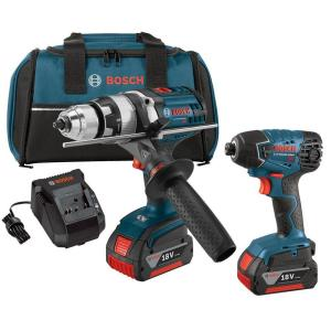 Bosch 2-Tool 18-Volt Lithium Ion (Li-ion) Cordless Combo Kit