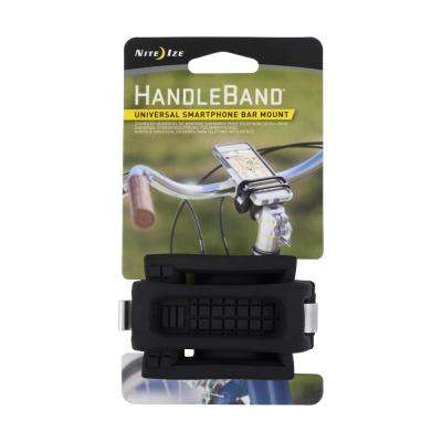 Handle Band Universal Smartphone Bar Mount, Black