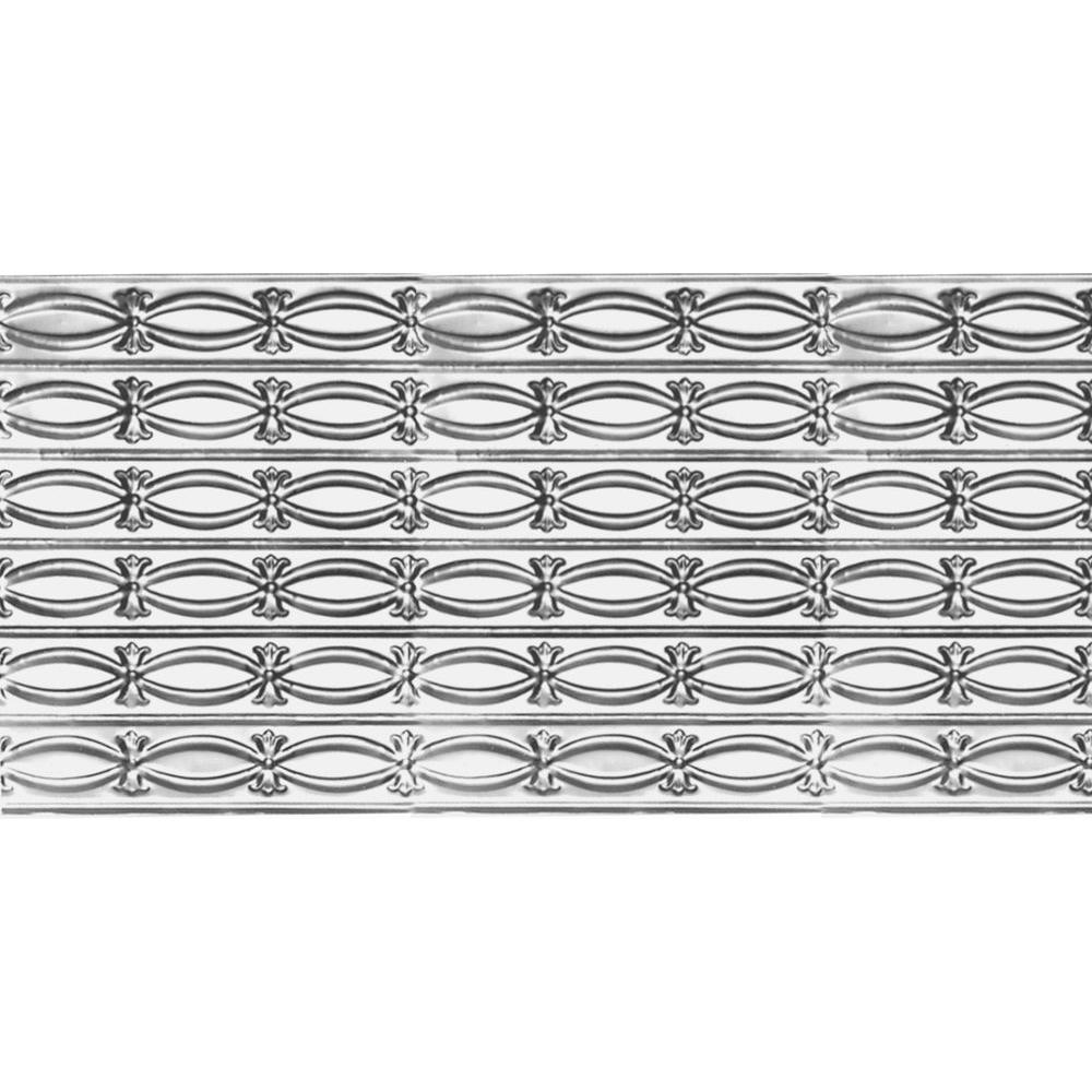 VILAC 2 ft. x 4 ft. Nail-up/Direct Application Tin Ceilin...