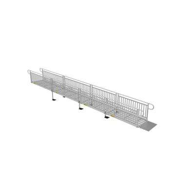 28 ft. Expanded Metal Ramp Kit with Vertical Pickets