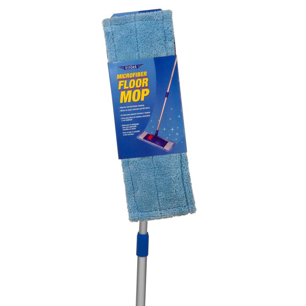 Ettore Microfiber Floor Mop-78500 - The Home Depot
