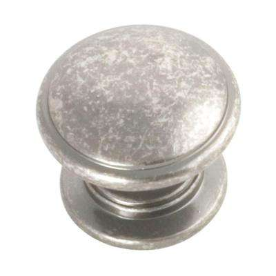 Williamsburg 1-1/4 in. Black Nickel Vibed Cabinet Knob