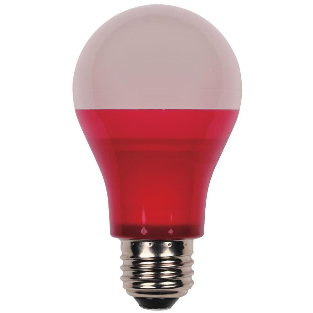 Indoor Led Light Bulbs: Westinghouse 40-Watt Equivalent Red Omni A19 LED Party