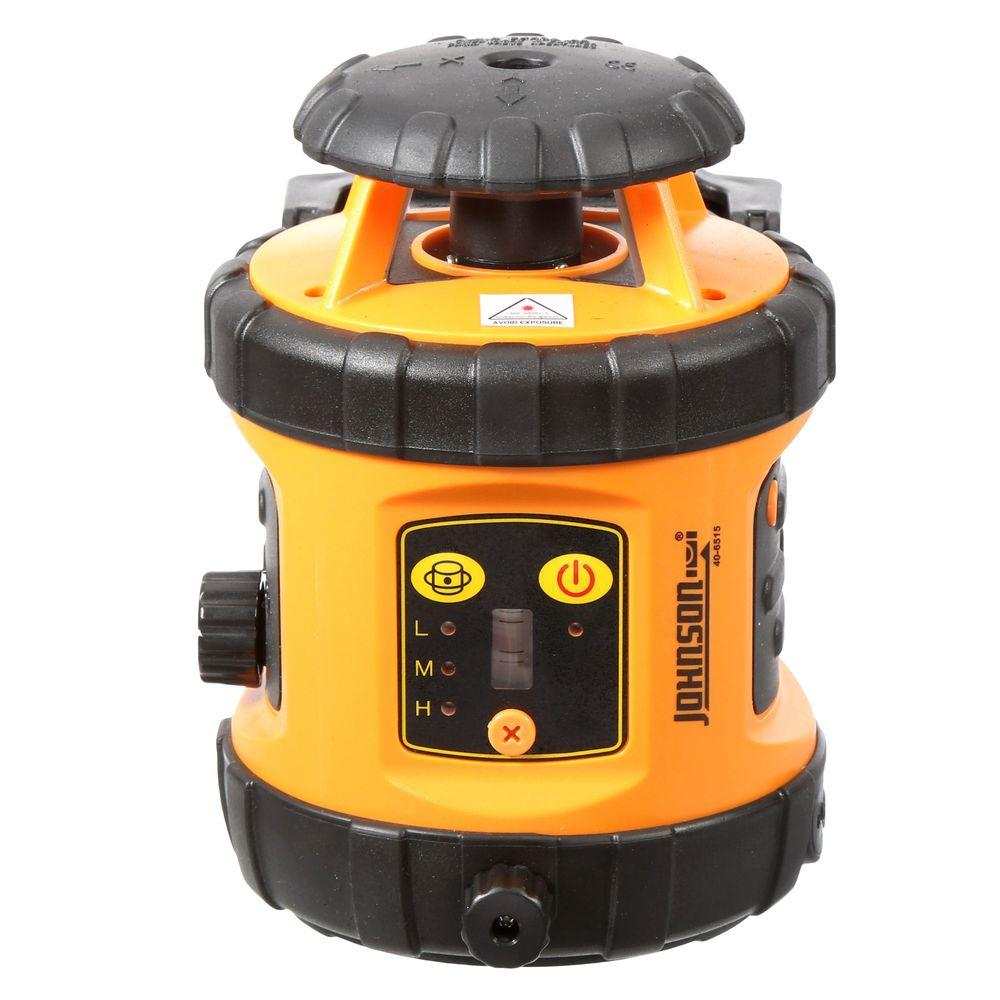 Johnson Self-Leveling Rotary Laser Level with Detector