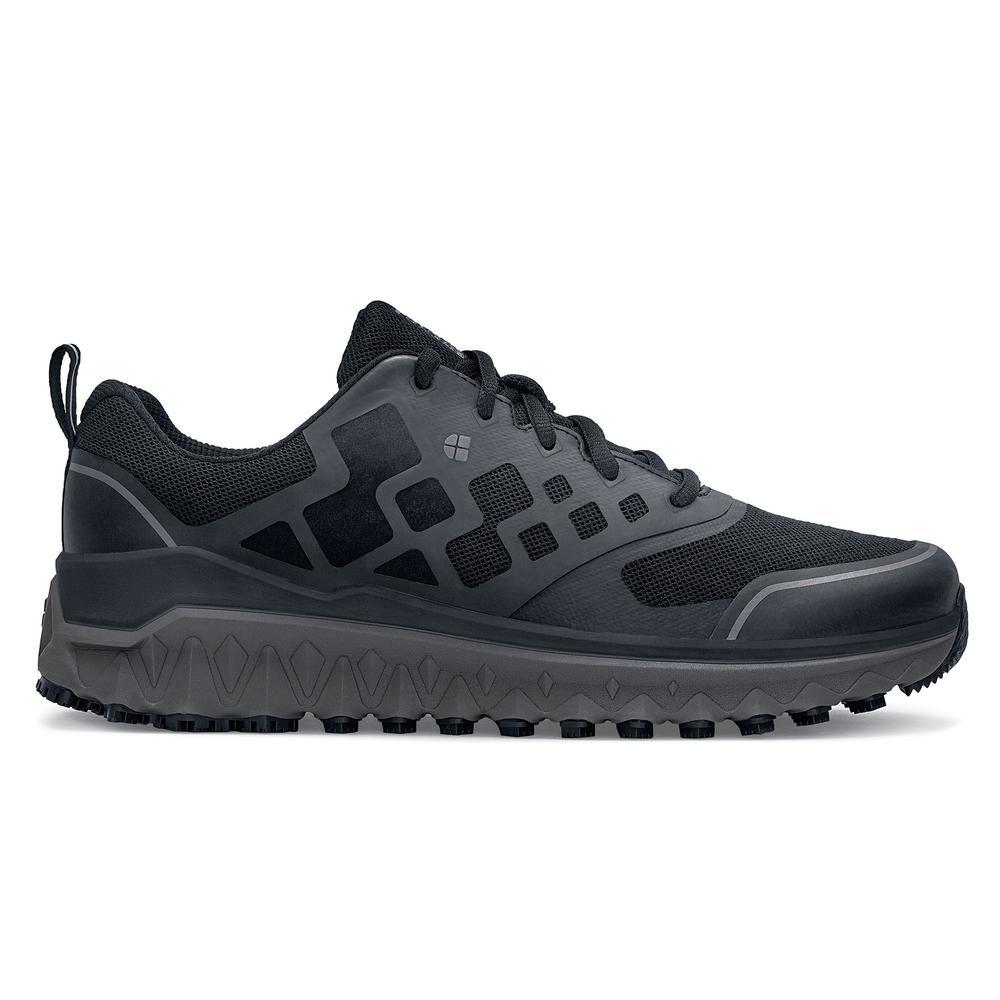 df194d8f292 Shoes For Crews Bridgetown Men's Size 12M Black Mesh/Synthetic Slip-Resistant  Work Shoe-28740-S12 - The Home Depot