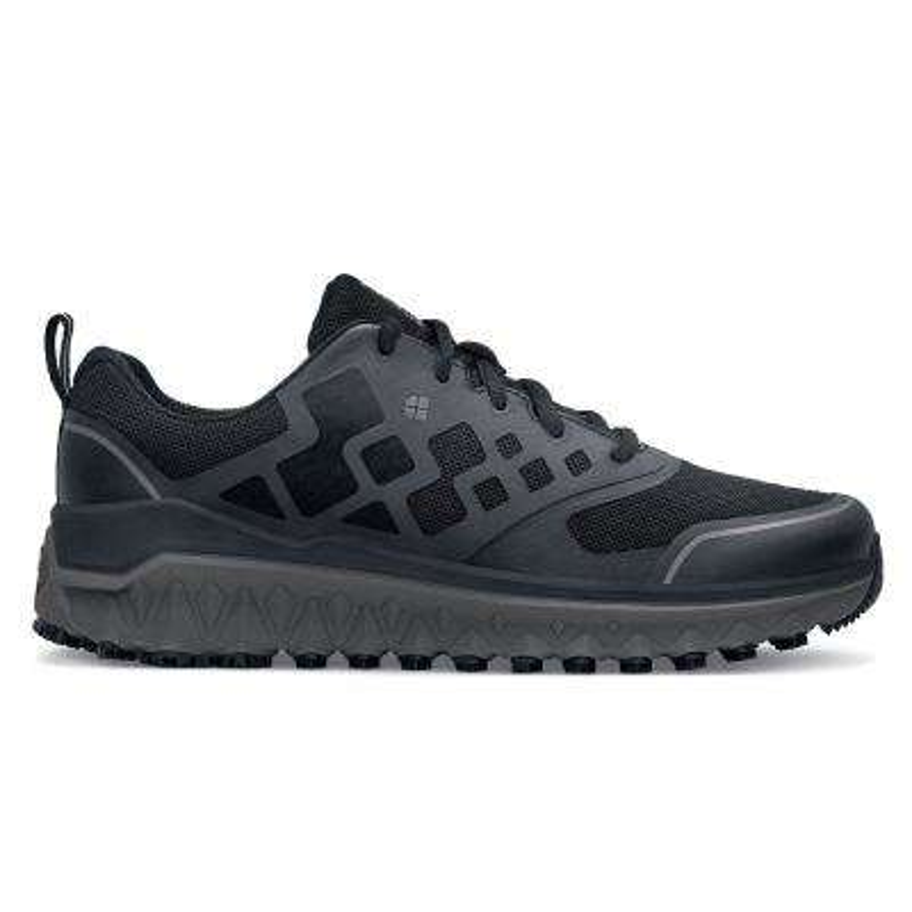 Bridgetown Men's Size 9.5M Black Mesh/Synthetic Slip-Resistant Work Shoe