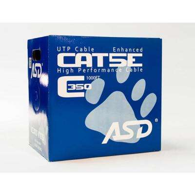 Cat5e Riser 1,000 ft. Blue 350MHz CMR Box
