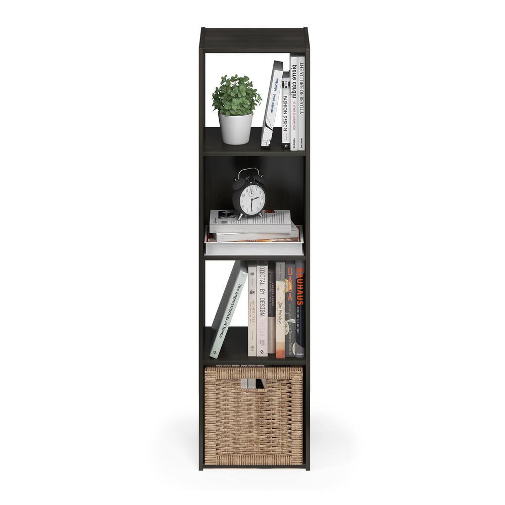 Furinno Pelli Espresso Cubic Storage Cabinet 18052EX