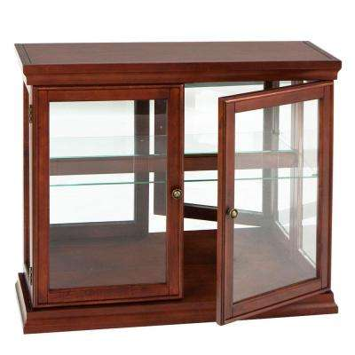 Myron Traditional Mahogany Storage Console Table