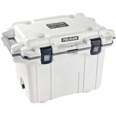 50 Qt. White Elite Deluxe Cooler