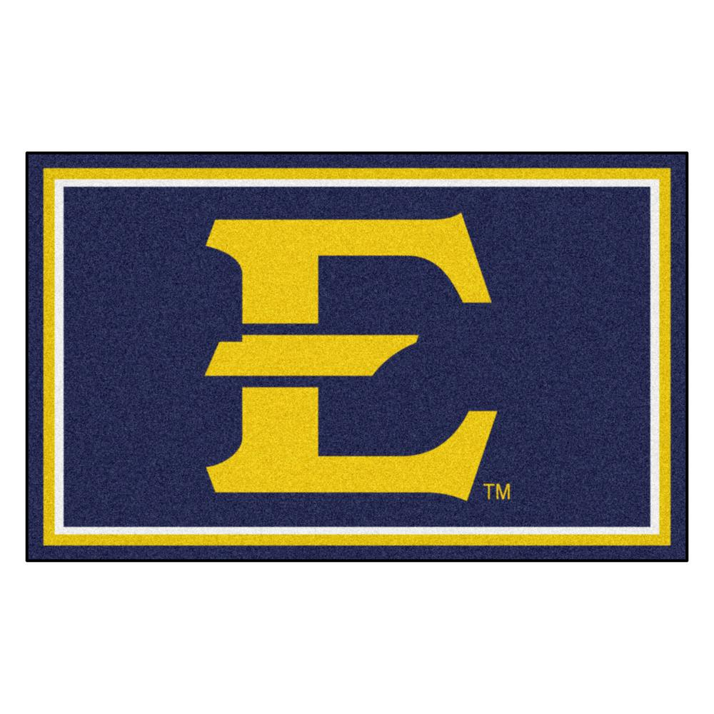 Fanmats Ncaa East Tennessee State University Blue 6 Ft