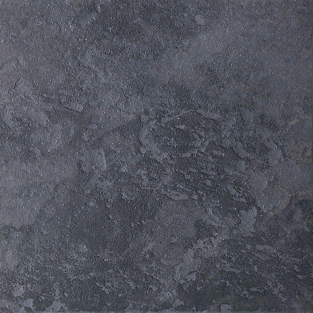 Continental Slate Asian Black 6 in. x 6 in. Porcelain Floor
