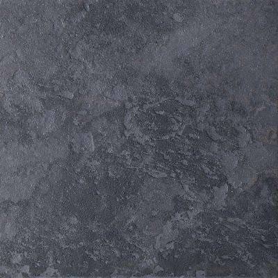 Continental Slate Asian Black 6 in. x 6 in. Porcelain Floor and Wall Tile (11 sq. ft. / case)