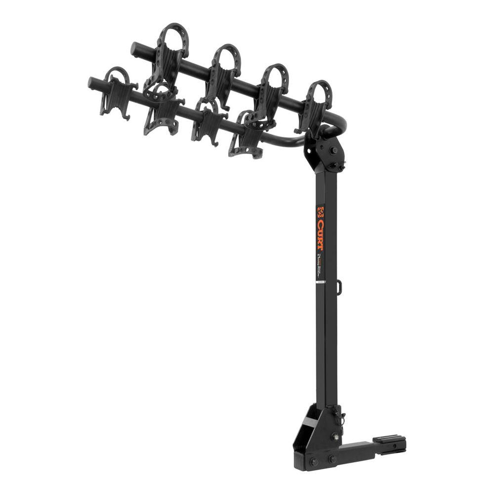 CURT - 4-Bike Hitch Mounted Bike Rack