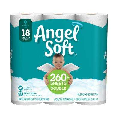 Bath Tissue 264 sheets 45 double roll case
