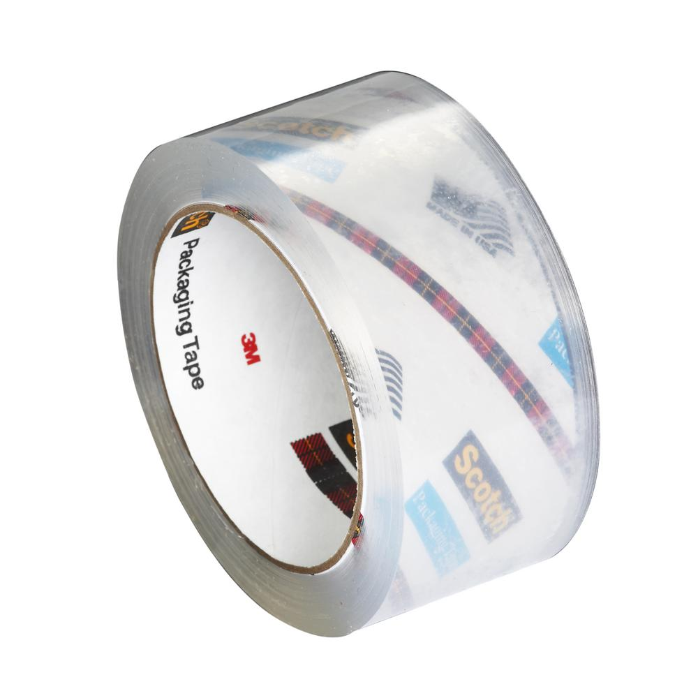 3M 1.88 in. x 54.6 yds. Heavy-Duty Shipping Packaging Tape ((3-Pack) (Case of 8))