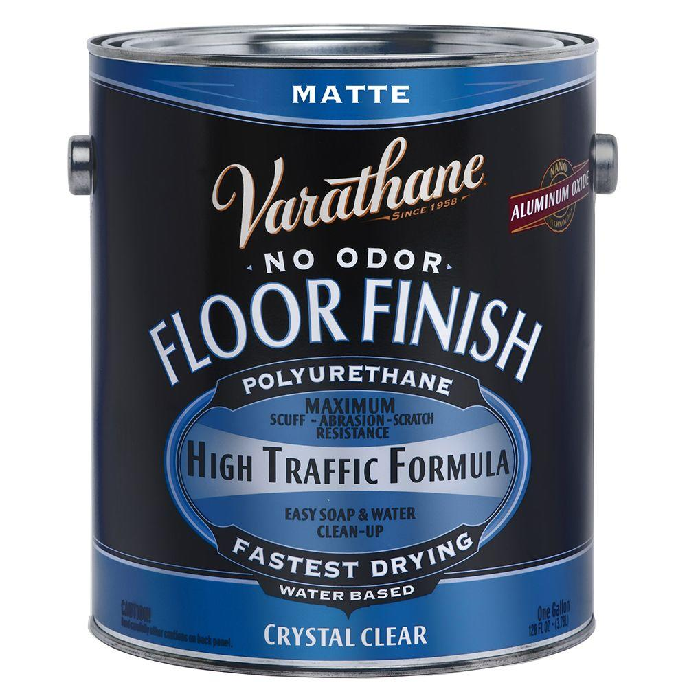 Varathane 1 Gal Clear Matte Water Based Interior