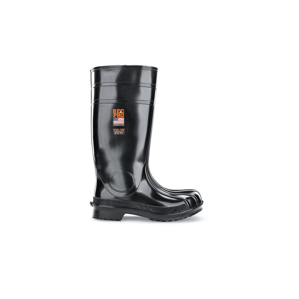 981d5df34743 Shoes For Crews Bullfrog II Unisex Size 12M Black EVA Slip-Resistant ...