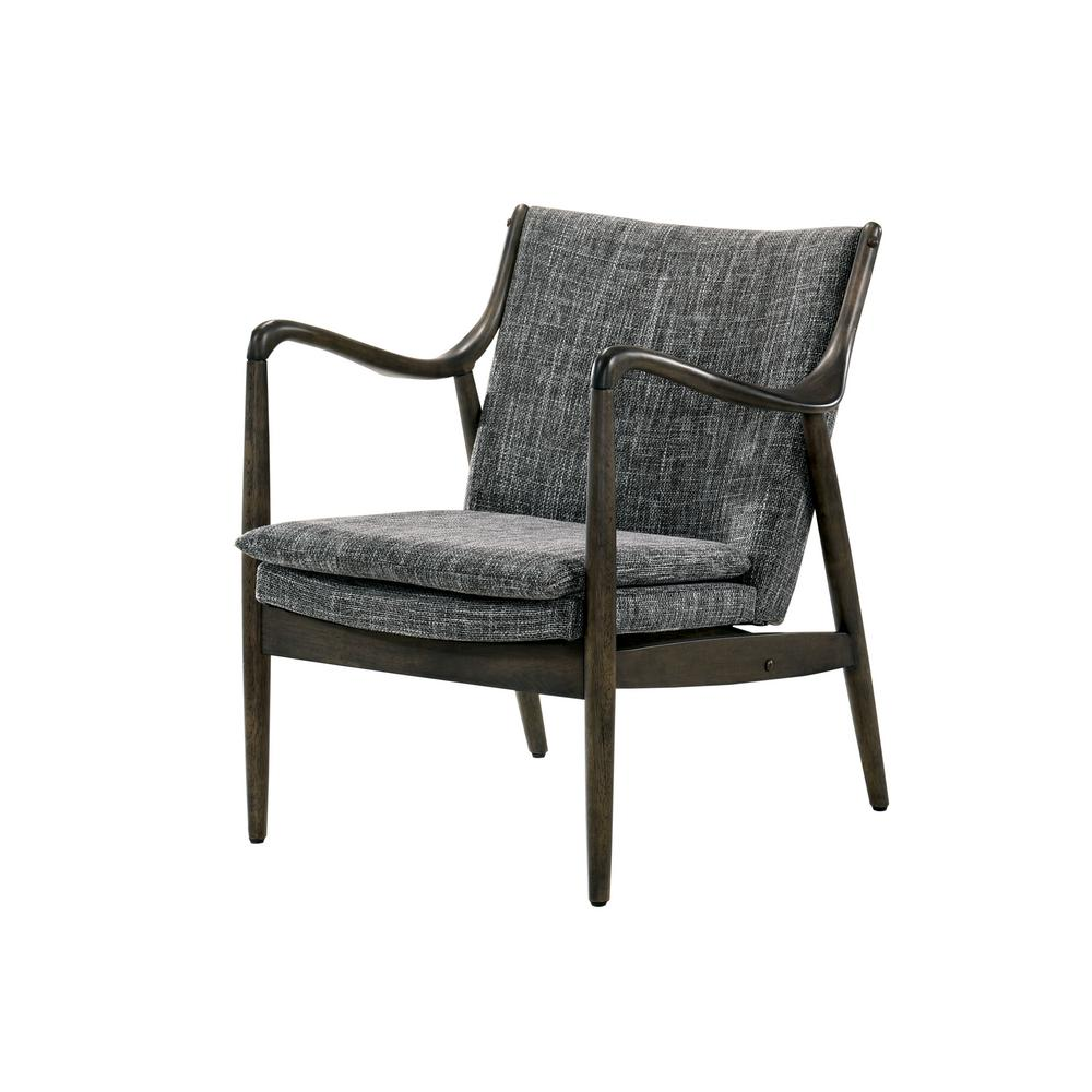 Thierry Gray Fabric Accent Chair