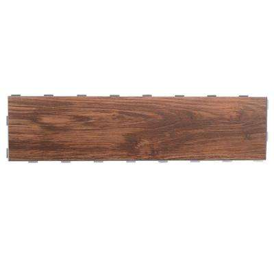 Walnut 6 in. x 24 in. Porcelain Floor Tile (5 sq. ft. / case)