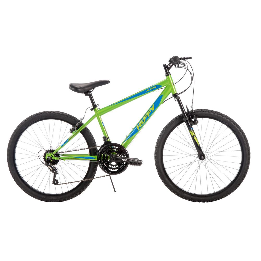 Huffy Alpine 24 in. Men's Mountain Bike, Multi