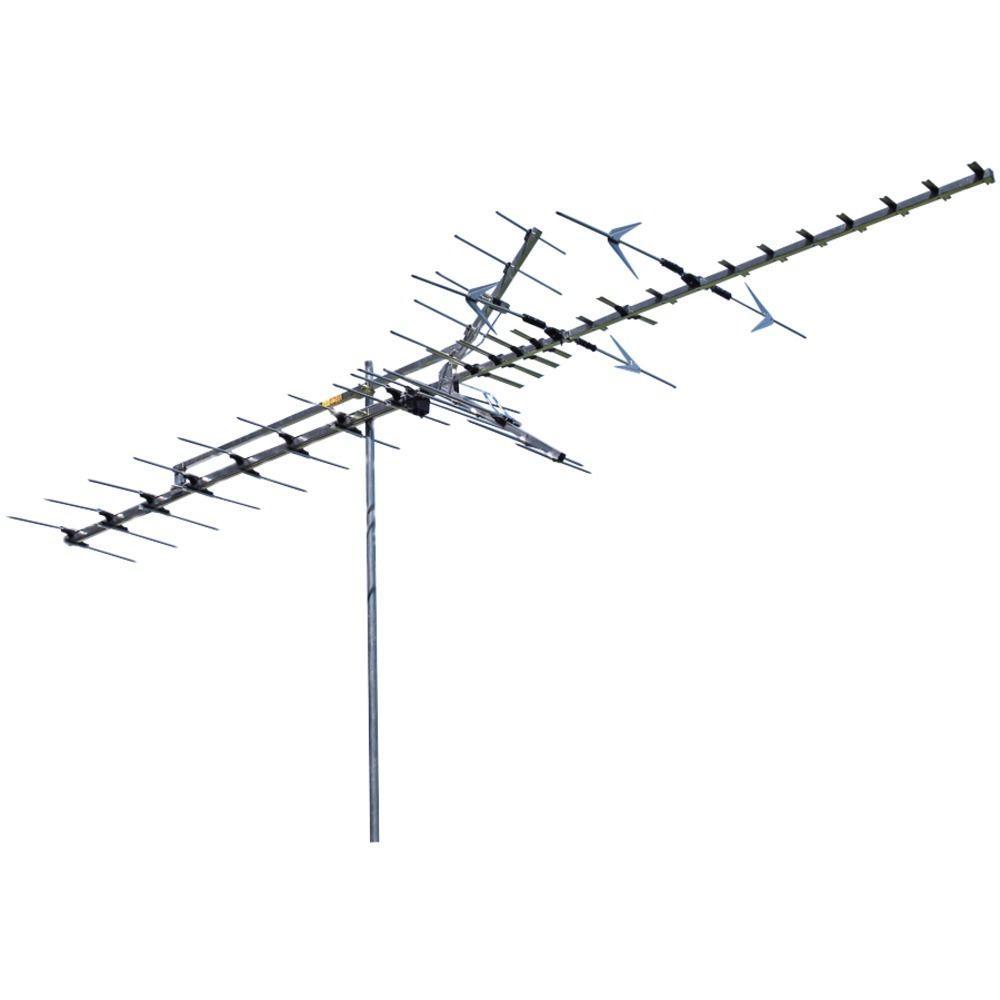 65-Mile Range Indoor/Outdoor HDTV HI-VHF Antenna