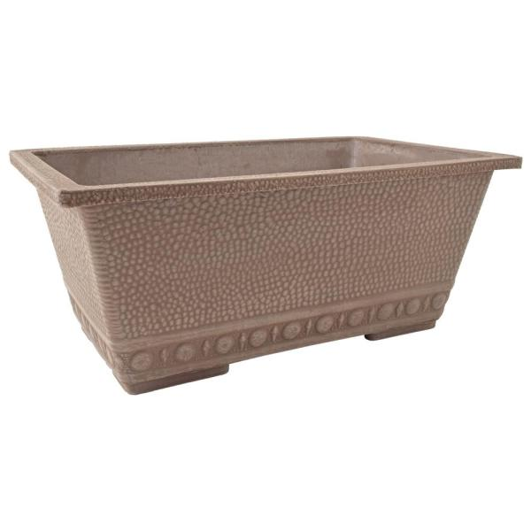 13 in. x 9 in. Taupe Composite Window Box