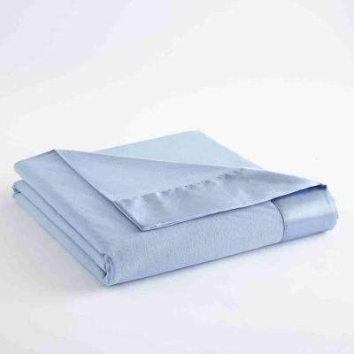 Full Queen Wedgewood Year Round Polyester Sheet Blanket