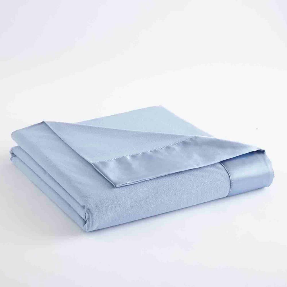 King Wedgewood Year Round Polyester Sheet Blanket