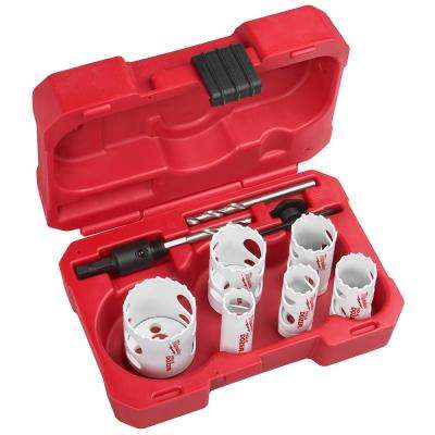 Hole Dozer General Purpose Bi-Metal Hole Saw Set (12-Piece)