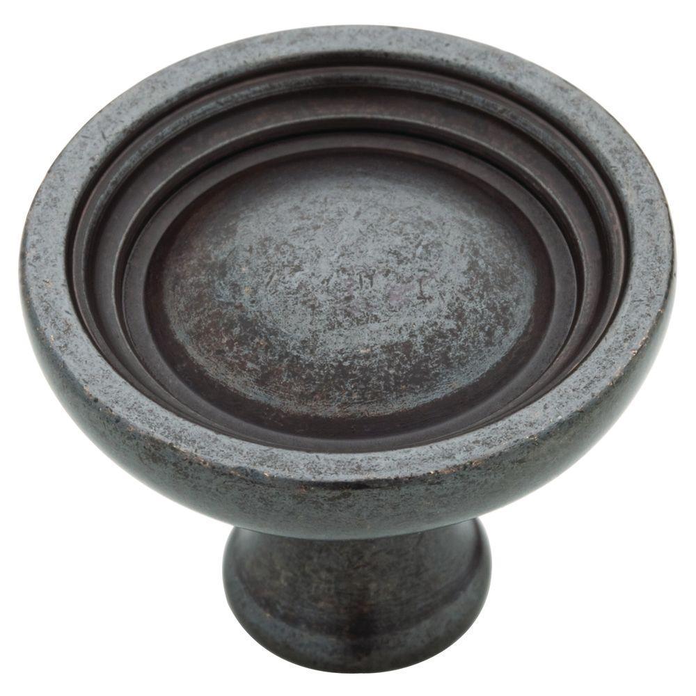 Martha Stewart Living 1-1/2 in. Soft Iron Bowl Cabinet Knob