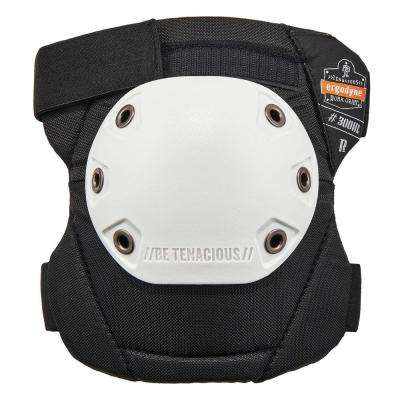 Rounded Cap Hook and Loop Knee Pads