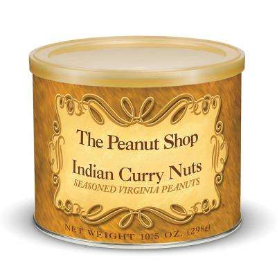 10.5 oz. Indian Curry Seasoned Peanuts (3-Pack)