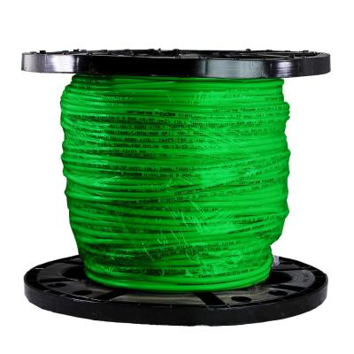 500 ft. 8/1 Green Stranded THHN Wire