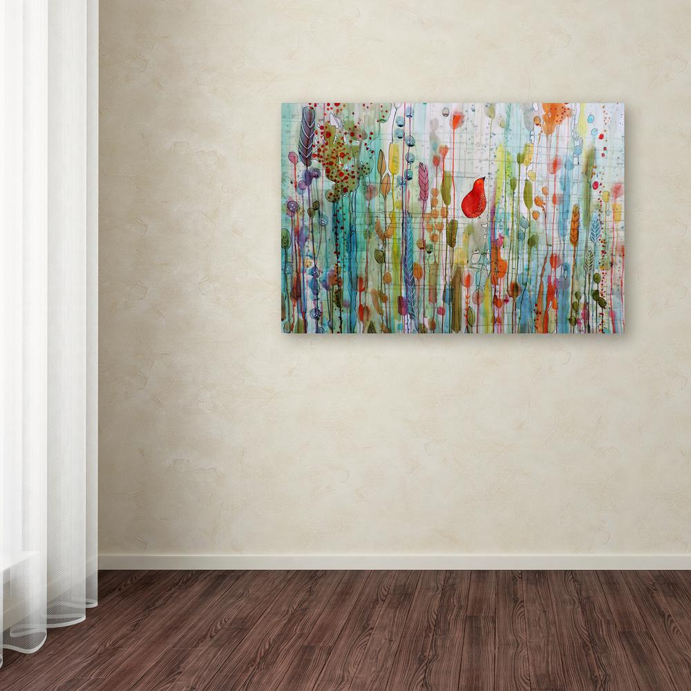12 In X 19 In Une Ame Dans Le Jardin By Sylvie Demers Printed Canvas Wall Art