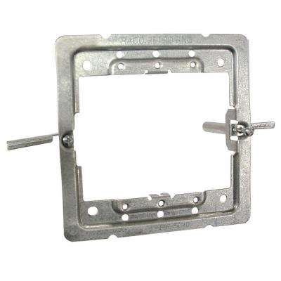 4 in. Square RETRO-RING, Accepts Switches, Outlet and Low Voltage Devices for Old Work Applications (10-Pack)
