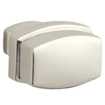 1.25 in. Vibrant Polished Nickel Bancroft Drawer Cabinet Knob
