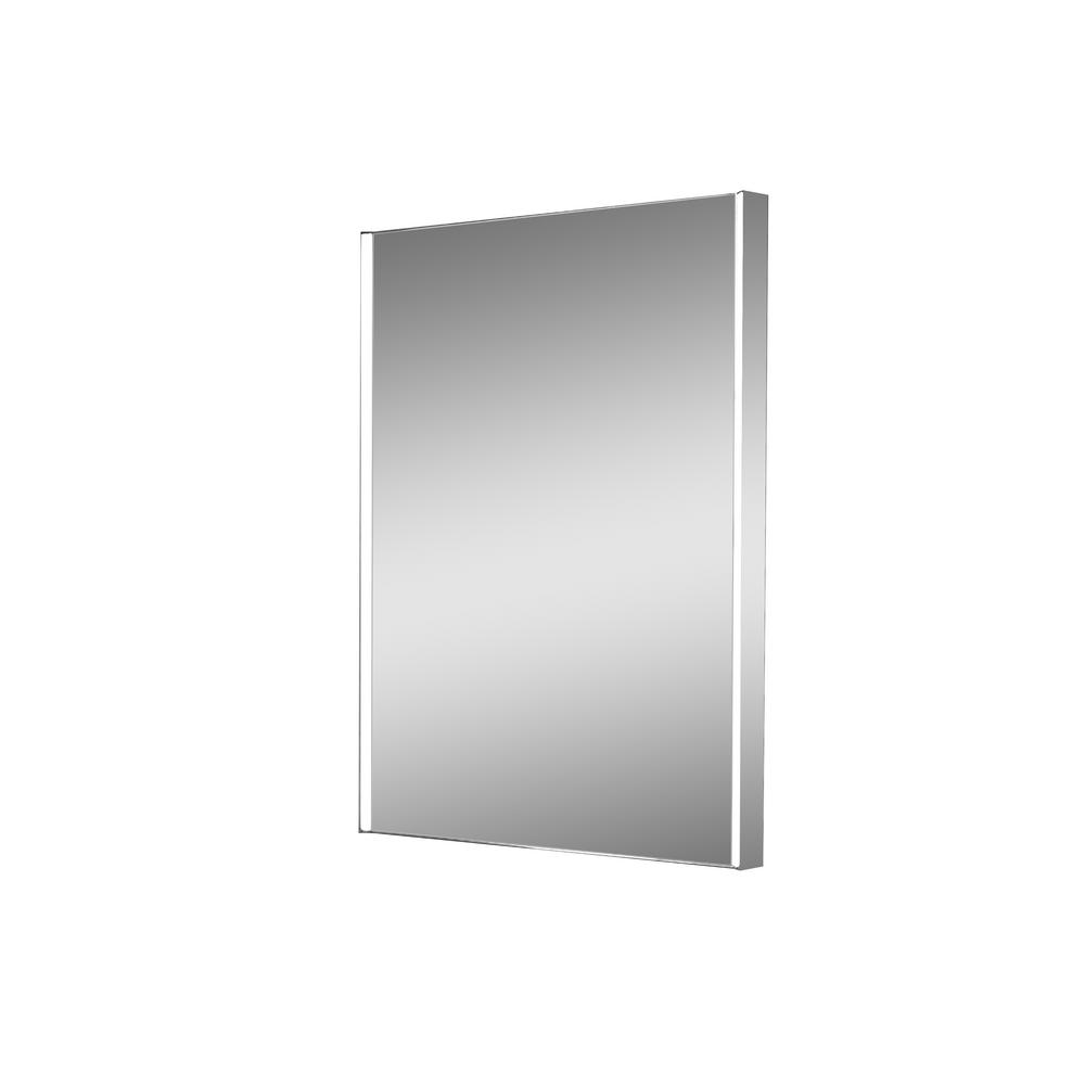 Zip 24 in. W x 32 in. H Lighted Impressions Frameless
