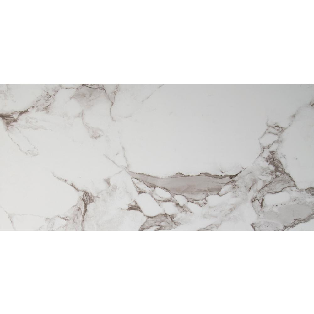 MSI Onyx Statuario 16 in. x 32 in. Polished Porcelain Floor and Wall Tile (9 cases / 96.03 sq. ft. / pallet)