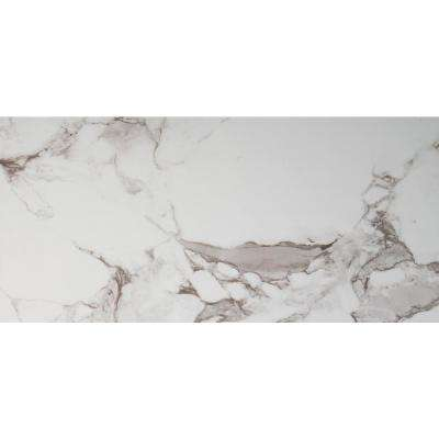 Onyx Statuario 16 in. x 32 in. Polished Porcelain Floor and Wall Tile (9 cases / 96.03 sq. ft. / pallet)