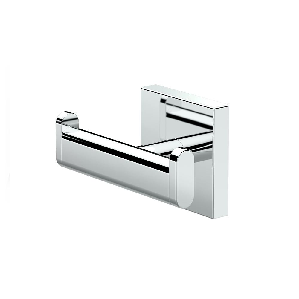 Elevate Double Robe Hook in Chrome